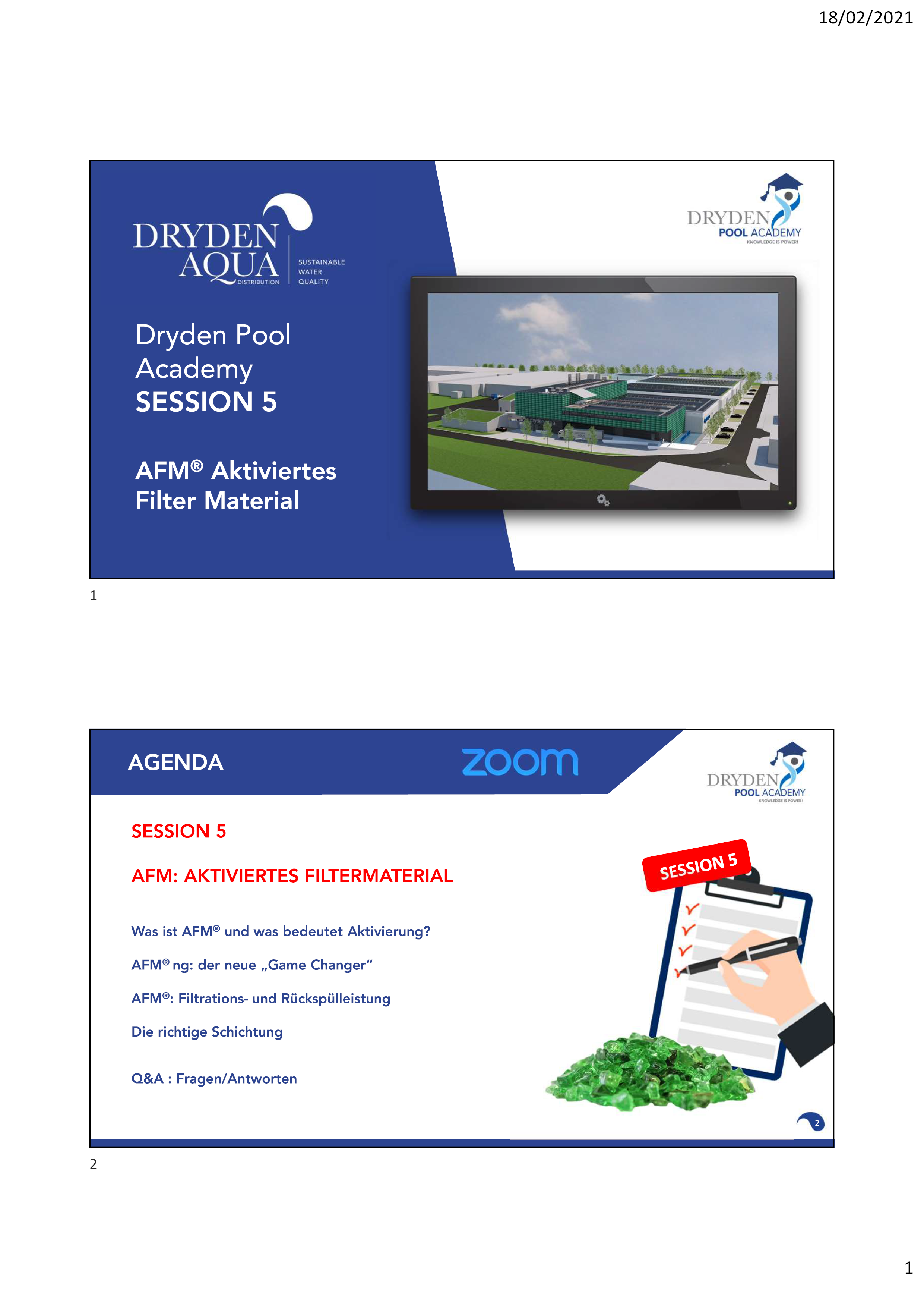 SESSION 5 - Presentation DE