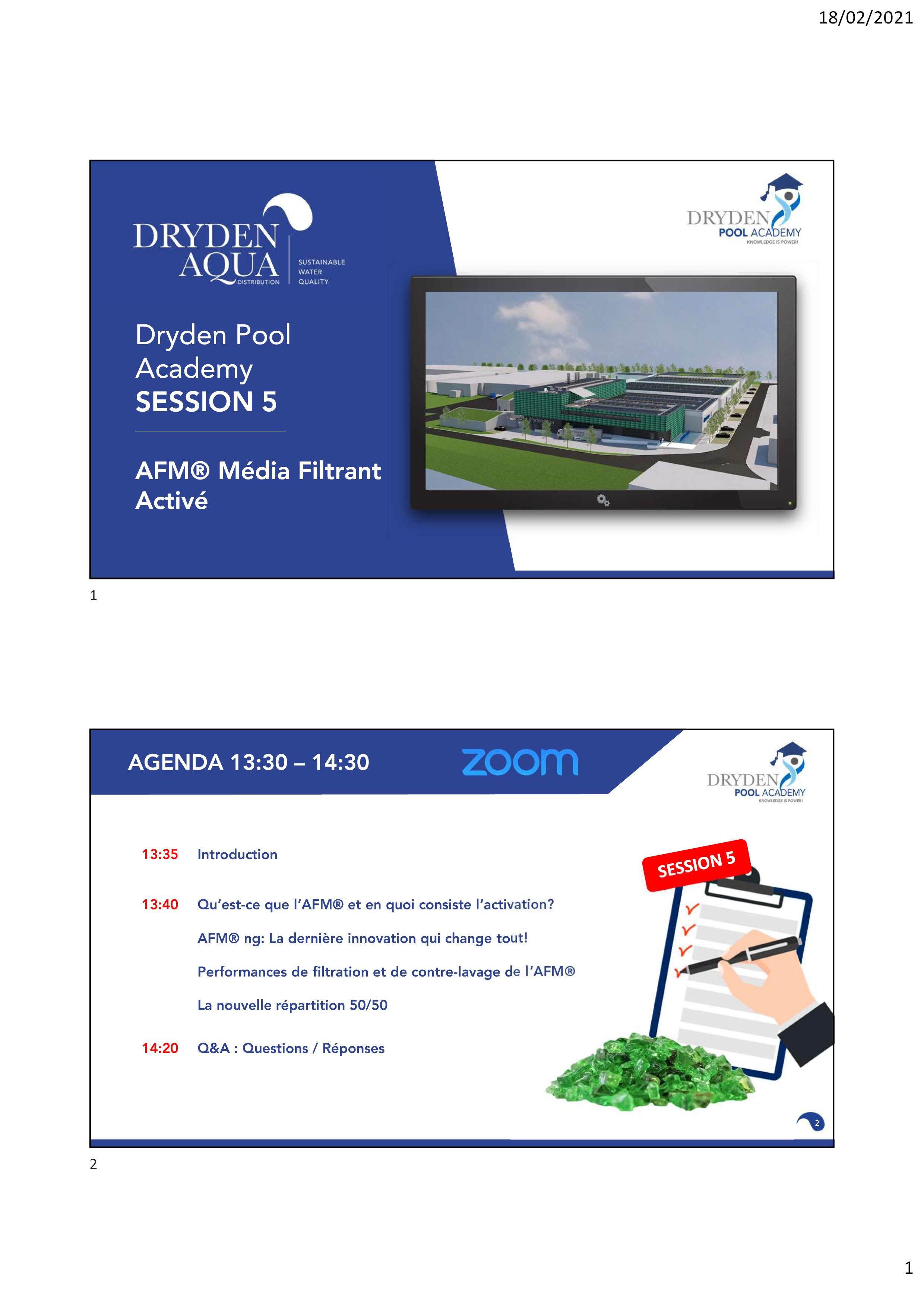 SESSION 5 - Presentation FR
