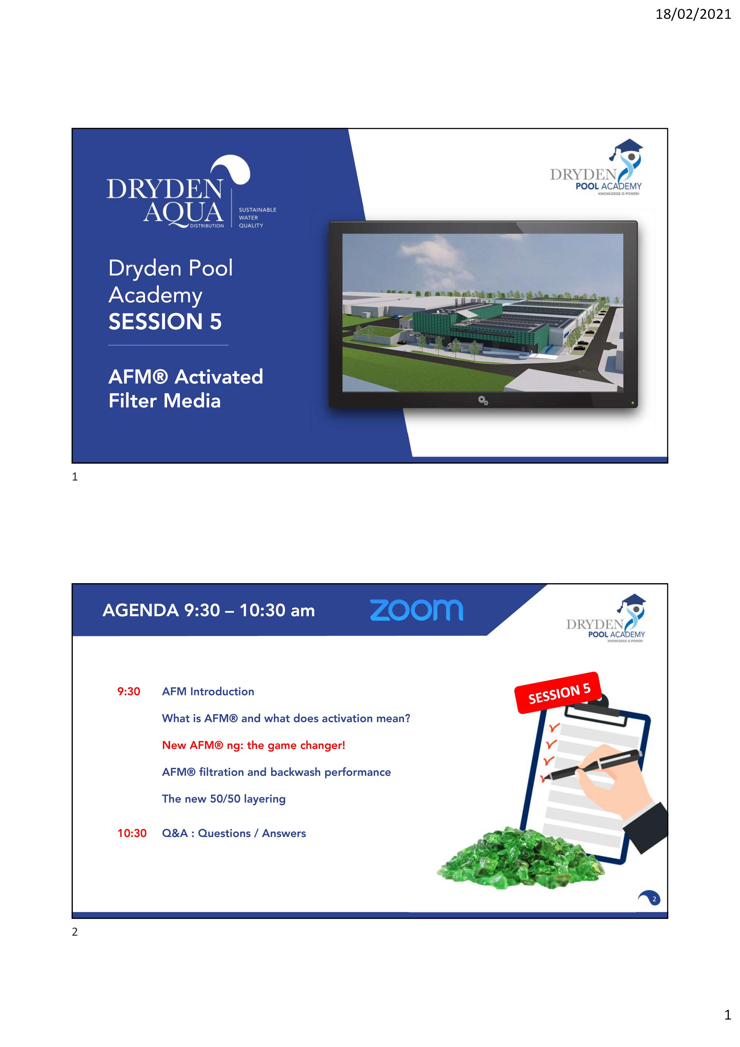 SESSION 5 - Presentation GB