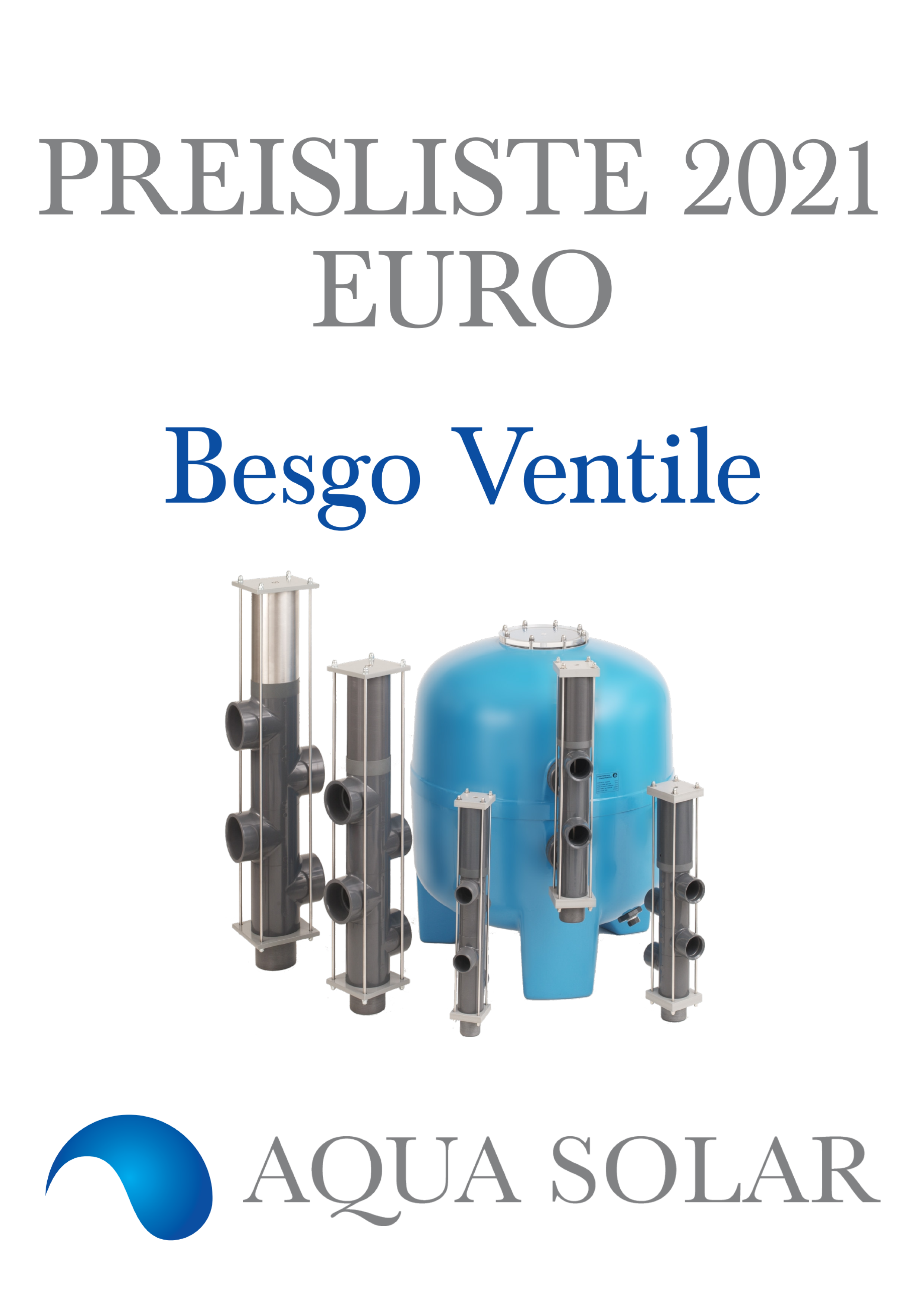 Export price List 2021 Besgo EUR German