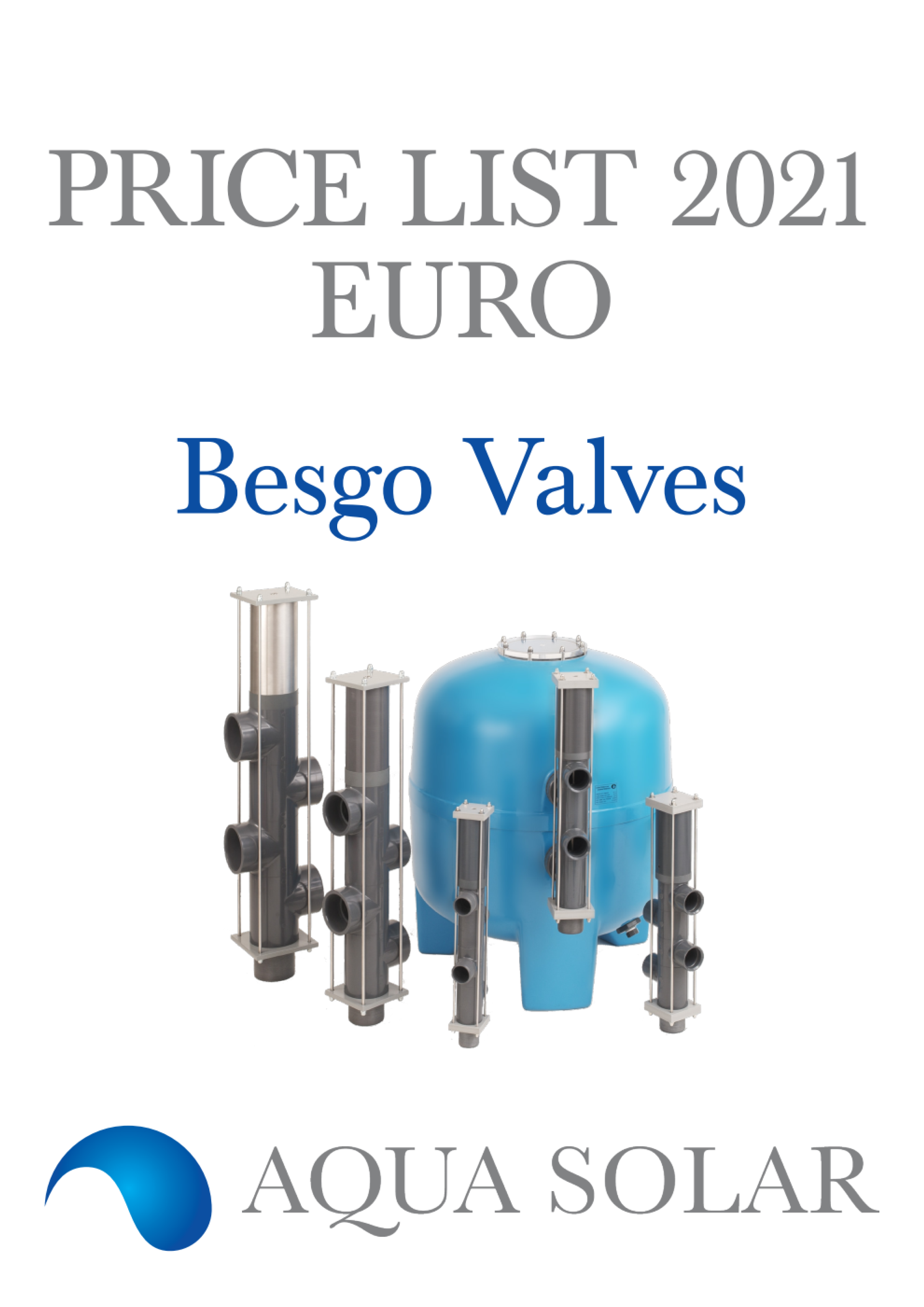 Export price List 2021 Besgo EUR English