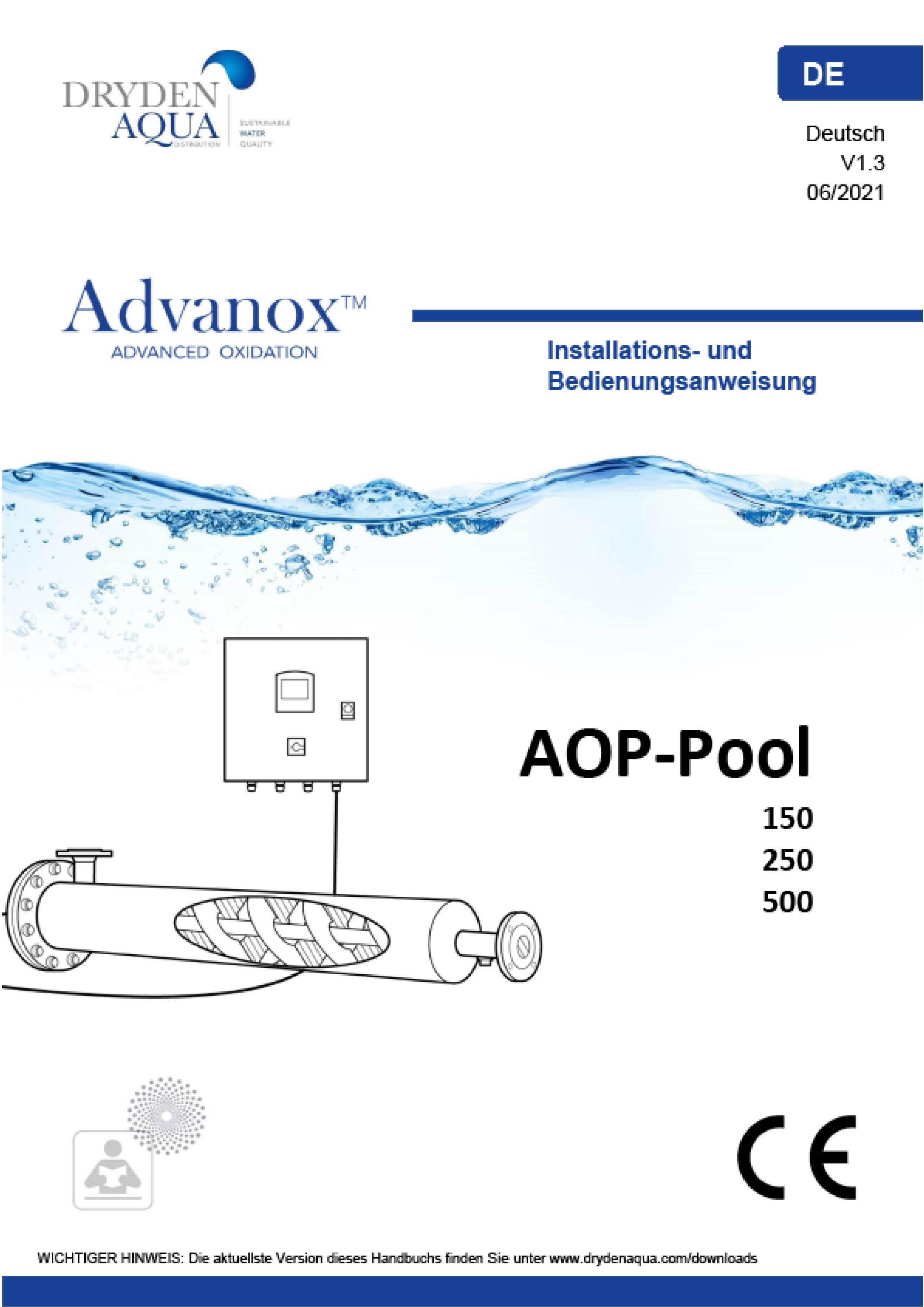 Advanox Manual Deutsch