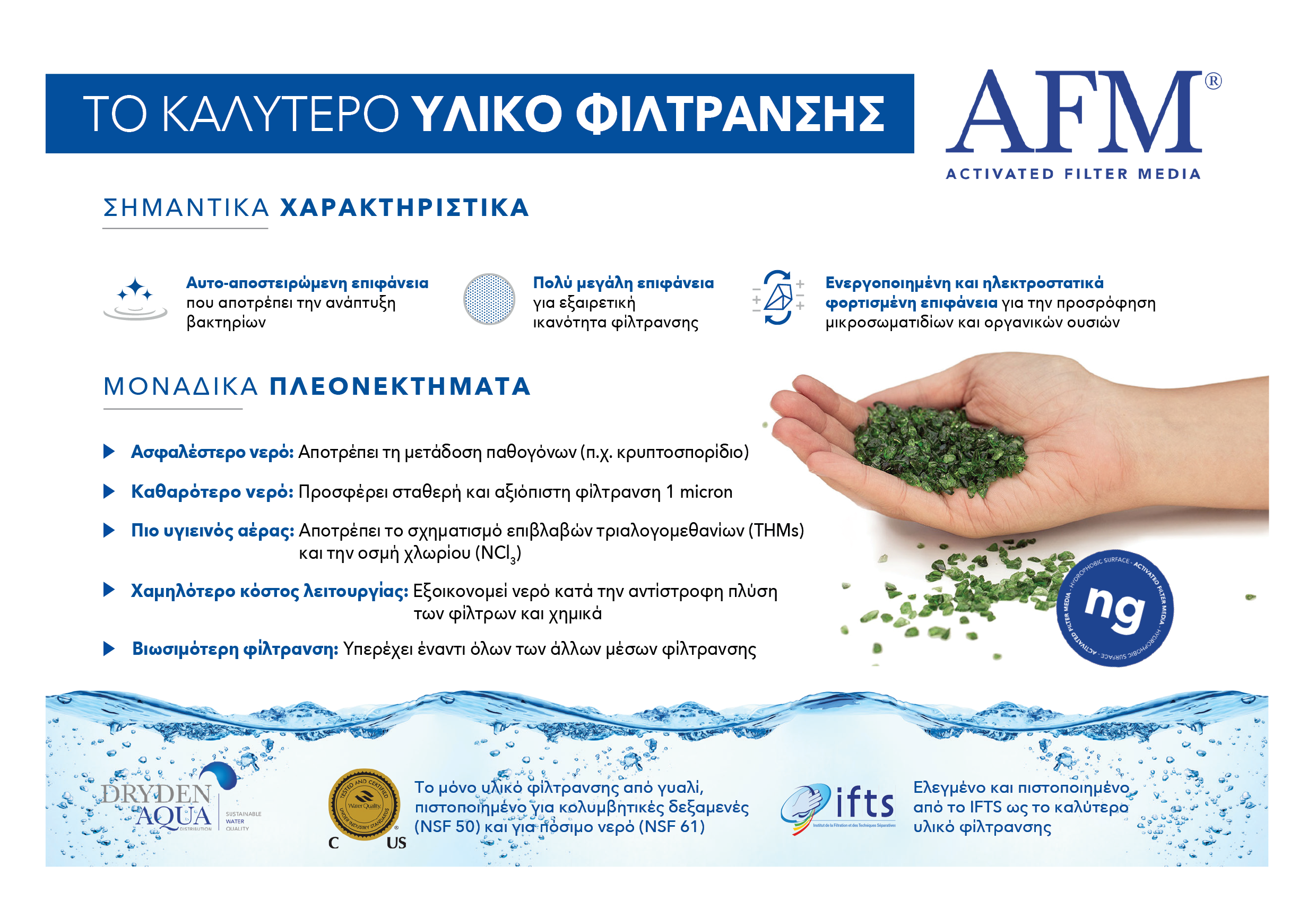 AFM A5 brochure Greek