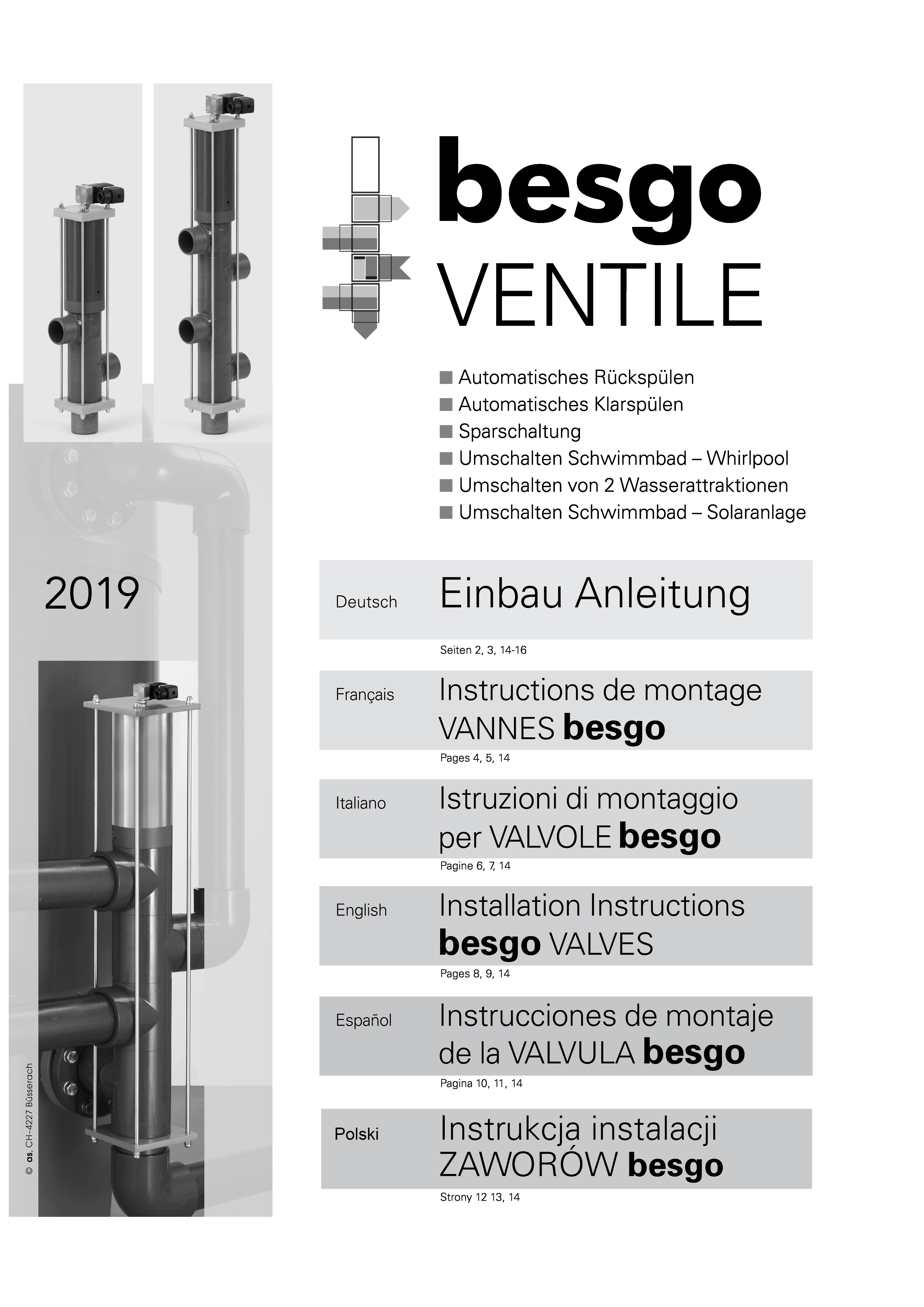 Besgo manual German