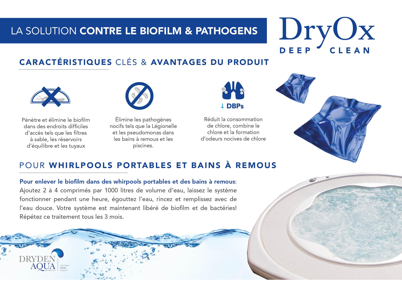 New DryOx A5 leaflet Français