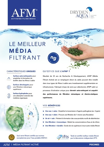 AFM A4 brochure 8 pager French