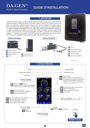 DA-GEN Touch 2020 Manual French