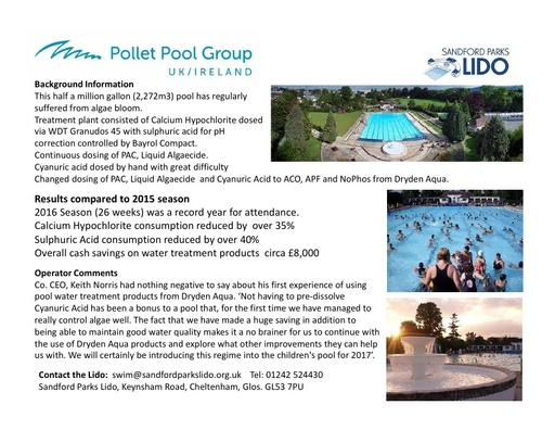 Case Study Sandford Parks LIDO UK