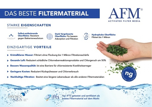 AFM A5 brochure German
