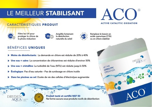ACO A5 brochure French