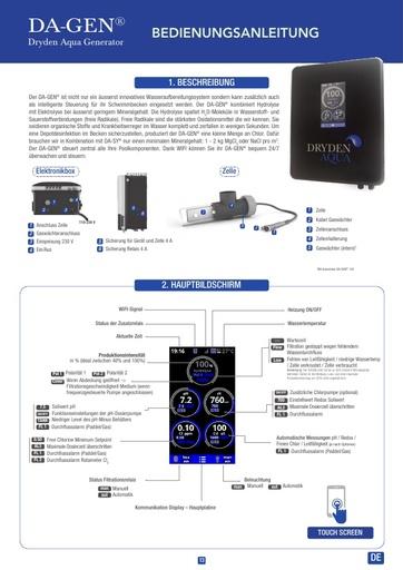 DA-GEN Touch 2020 manual German
