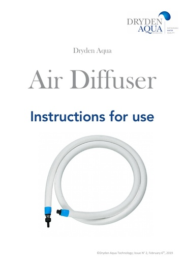 Air Diffuser Manual (IFU) Feb, 2019