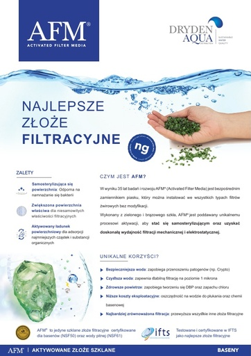 AFM A4 brochure 8 pager Polish