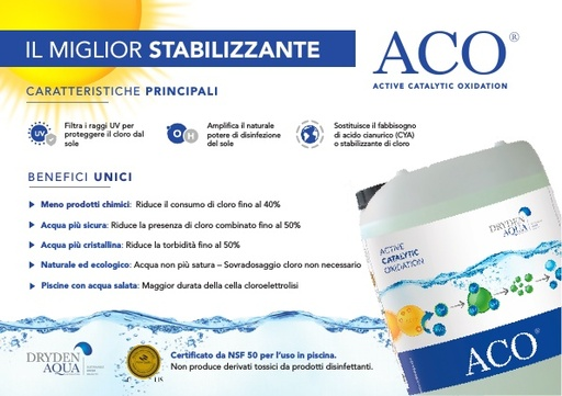 ACO A5 brochure Italian