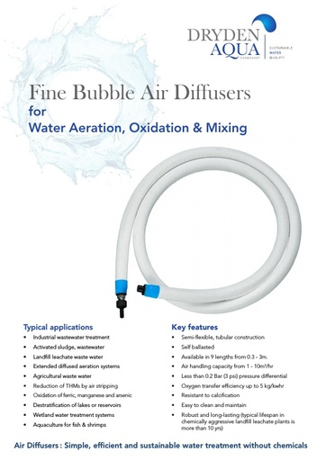 Air Diffusers brochure Water Treatment English
