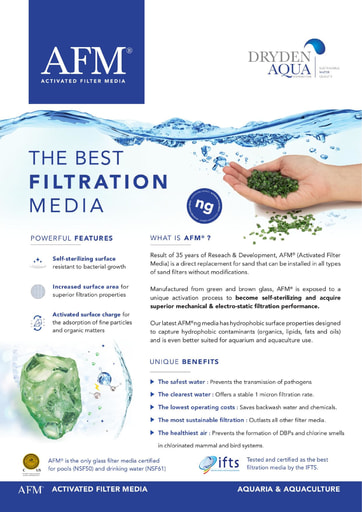 AFM brochure Aquariums English
