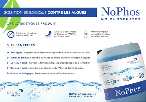 NoPhos A5 brochure French