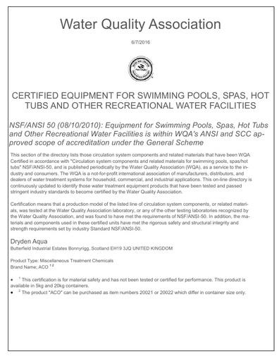 ACO NSF document