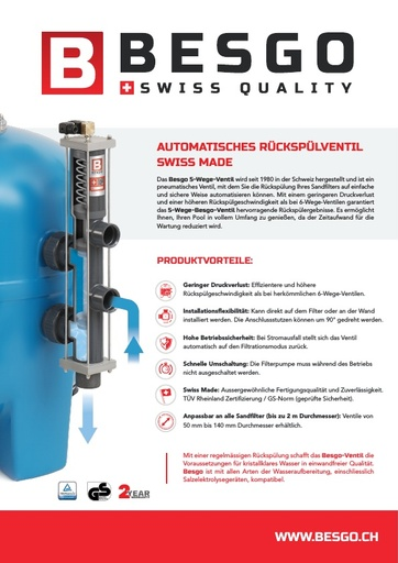 Besgo 5-way brochure German