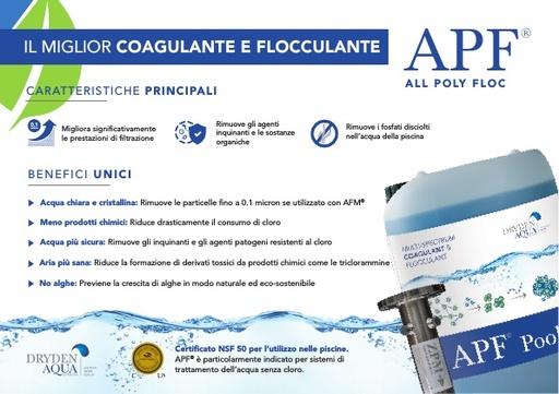 APF A5 leaflet Italian