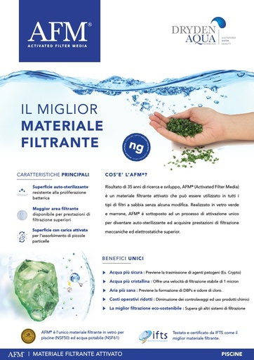 AFM A4 brochure 8 pager Italian