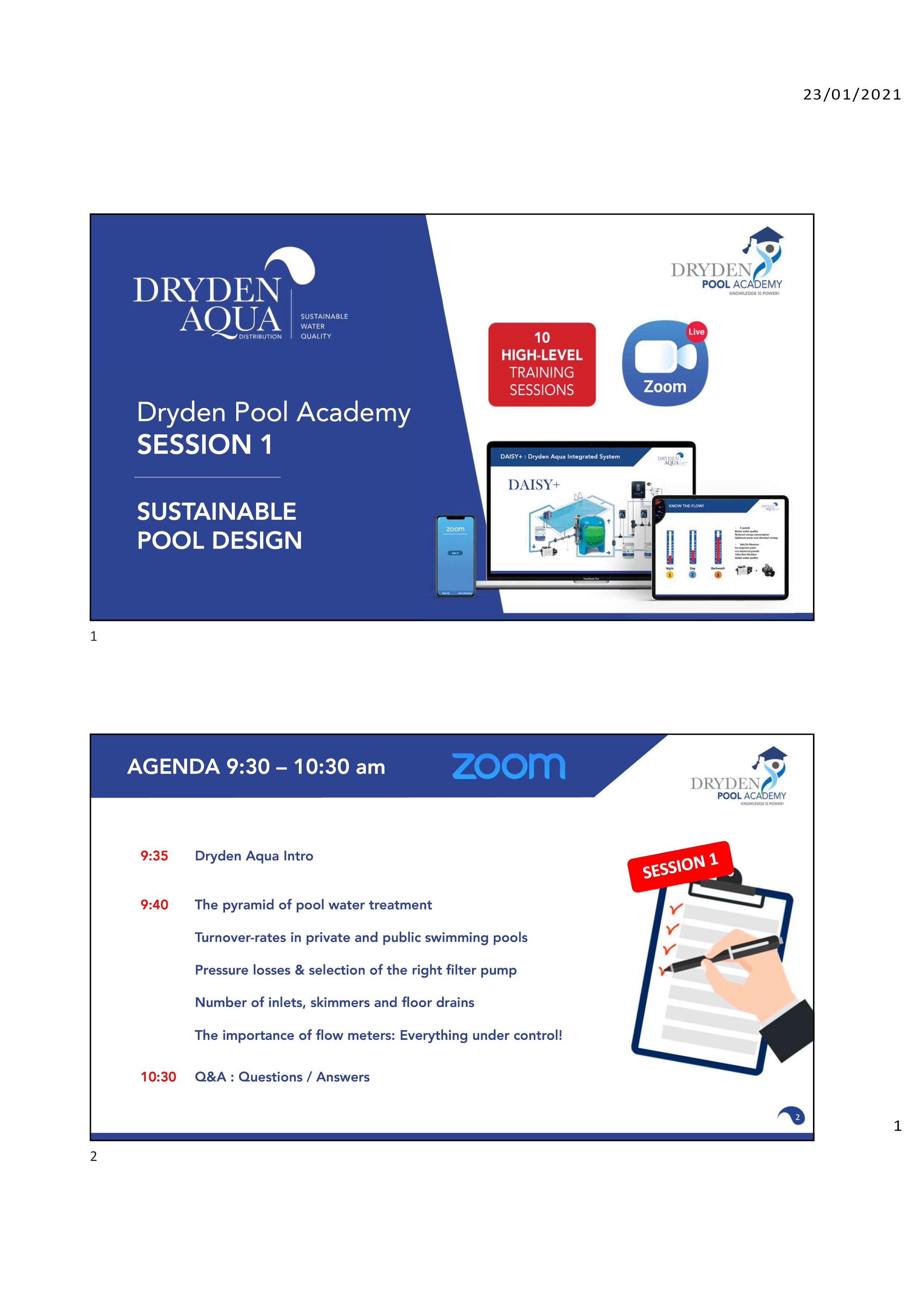 .Presentation SESSION 1 English